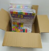 Job Lot of 24 x My 123 Colouring Sets - Great for Party Bags - Brand New