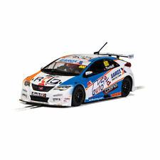 Scalextric Slot Car C4144 Honda Civic Type R - BTCC 2019 - Sam Tordoff