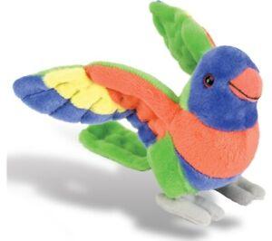 Wild Republic - Cuddlekins Lorikeet 20cm Stuffed Animal Toy