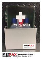 Eye Wash Kit + Holder Van shelving / garage / workshop - electrician / plumber