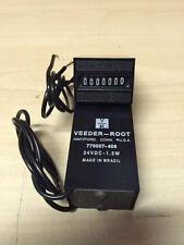 Veeder-Root Counter Non Reset 24VDC 7 Digit Rear Mount 779007-406