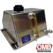 """Aluminum Go Kart Racing Fuel Tank 6"""" x 7-1/2"""" x 5"""" (4 QT) Low Profile Sprint"""