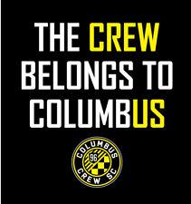 The CREW Belongs To ColumbUS shirt Save Crew MLS Soccer Football Zardes Trapp
