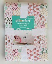 🆕 Pillowfort Garden Fetching Florals Cotton Quilt | Full/Queen | 88 in x 88 in