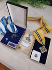 Vintage Boys Scouts Of America Medals Silver Beaver Award And Other