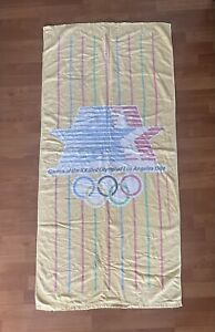 Vintage VTG 1984 Los Angeles Olympics Beach Towel