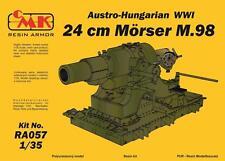 CMK RA057 WWI Austro-Hungarian 24cm Mörser M.98 Resin Kit in 1:35