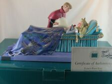 """Wdcc """"Love's First Kiss"""" Aurora and Phillip Sleeping Beauty Signed in Box Coa"""