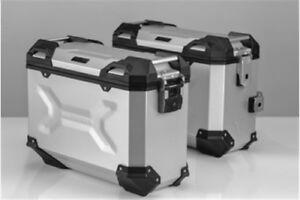 Side Case Trax Adv, Aluminium, Silver, SW-Motech, Great