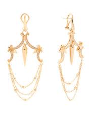 NWT Stephen Webster  Sterling Silver Superstud Diamond Chandelier Earrings
