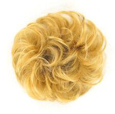 extension bollo en el cabello coletero rubio dorado 17/24b peruk