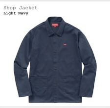 Supreme Shop Jacket Navy Blue Size Medium