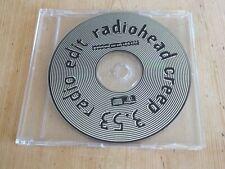 More details for radiohead creep (radio edit) promotional cd
