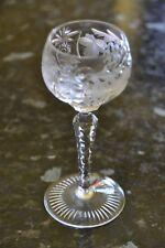 Nachtmann Traube Sherryglas Bleikristall   Top Zustand Original  70er Jahre