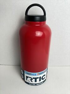 Rtic 64oz Stainless Steel Dubl Wall Vacuum Insulated Water Bottle Hiking Camping