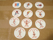 DOMINOS PIZZA PACIFIC PALISADES POGS C/S of 11 RARE