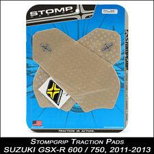 STOMPGRIP Pads de tracción, SUZUKI GSX-R 600/750 ,11-13, transparente,
