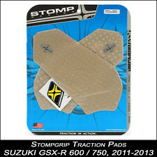 Stompgrip TRACTION Tapis, SUZUKI 600/750,11-13, transparent, tankpad, 55-10-0057