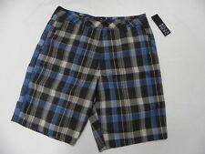 Billabong Walkshort Shorts Size 32 Nash Navy Plaid
