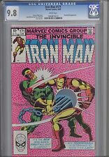 Iron Man 171  CGC 9.8 1983 Marve Featuring Thunderball