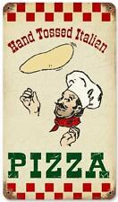 Vintage Italian Pizza Metal Sign Restaurant Diner Cafe Shop Kitchen Decor V933