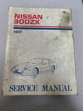 1987 Nissan 300ZX Service Repair Manual Model Z31 Series