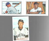 Baseball Bowman Inserts 1989 Set 11 Mickey Mantle Jackie Robinson Ted Williams