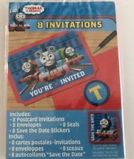 Thomas The Tank Engine & Friends Invitations Pack of 8 as SHOWN