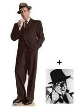 Humphrey Bogart Hollywood Celebrity Cardboard Cutout Party Fun Figure With Photo