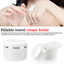 Refillable Bottles Travel Face Cream Lotion Cosmetic Container Empty Makeup Jar