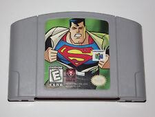 N64 Superman (Nintendo 64, 2000) Game