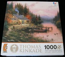 THE END OF A PERFECT DAY THOMAS KINKADE 3310-31 CEACO JIGSAW PUZZLE 10/16 J-50