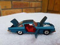 VINTAGE CORGI-GHIA L6.4 CHRYSLER V8 ENGINE CAR No 241 WITH DOG - 1963 -1969