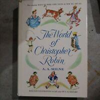 A.A. Milne - The World of Christopher Robin VTG 1958 E.H.Shepard Illustr. HC+DJ