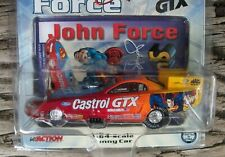 John Force Action Racing NHRA Superman 1999 Ford Mustang Nitro Funny Car LE 1/64