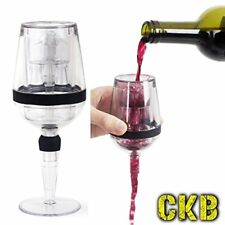 Aireador de vino en forma de un vino Vidrio Botella Vertedor De Bebidas Decantador de aireación