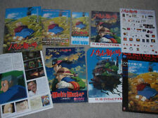 howl's moving castle japan cinema programm pressbook + gratis flyer! studio ghibli