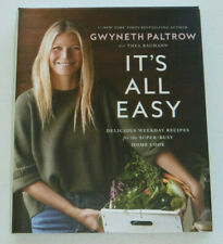 Gwyneth Paltrow Authentic Signed It's All Easy Hardcover Book Autographed