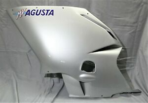 Genuine MV Agusta F4 1000 LH Left Fairing Panel Silver 80C091669