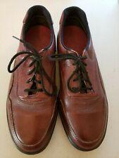 Men Oxford Red Wings Brown Griptec Shoes 8641 Man Size 11.5 D