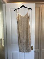 Glitter River Island Dress Size 10 (Brand New)