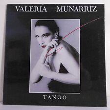 """33T Valeria MUNARRIZ Disque LP 12"""" TANGO - LE CHANT DU MONDE 74712 Frais Reduit"""