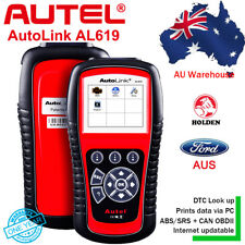 AU Ford Holden Autel Autolink AL619 OBD2 Diagnostic Scanner Code Reader ABS SRS