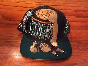 Vintage Michigan Wolverines NCAA TOW Cap Hat Snapback Slam Dunk Basketball VTG
