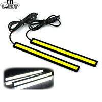 2PCS 17CM COB DRL LED Daytime Running Light Auto Lamp External Lights Fog Lamp