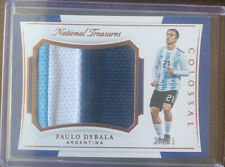 2018 National Treasures Paulo Dybala Colossal Jersey 3 Color Patch  ARGENTINA