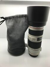Canon Zoom Lens EF 70-200mm f/4 L IS USM