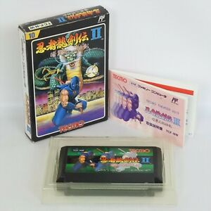 NINJA RYUKENDEN II 2 Famicom Nintendo 2965 fc