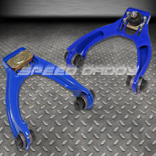 ADJUSTABLE POWDER-COATED STEEL FRONT CAMBER KITS 96-00 HONDA CIVIC LX EX SI BLUE