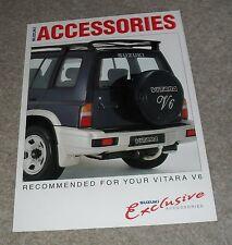 Suzuki Vitara V6 Accessories Brochure 1995